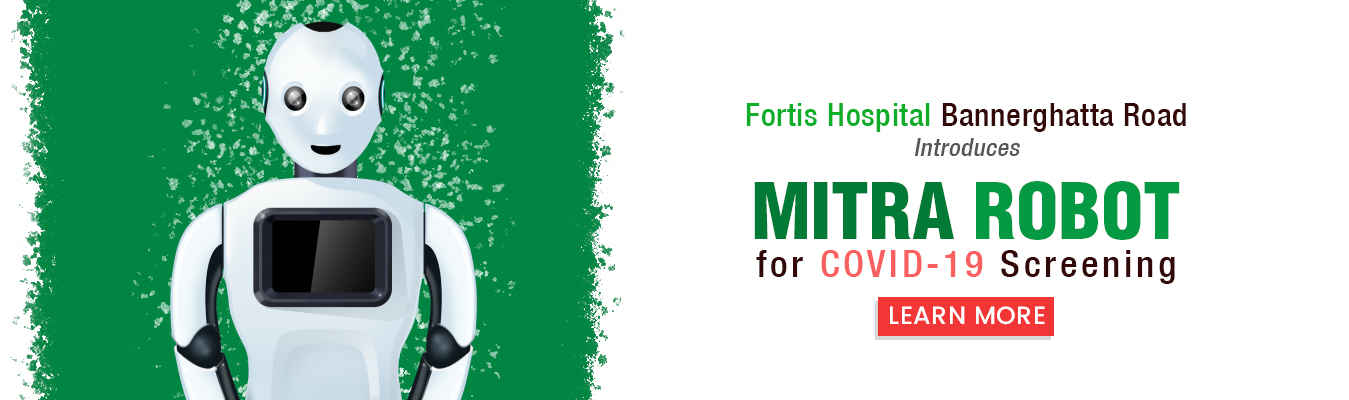 Fortis Hospital Bannerghatta Road introduces MITRA ROBOT for COVID-19 screening